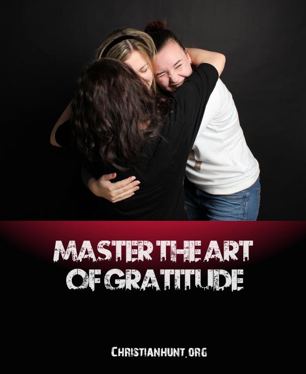 Gratitude Christian Hunt