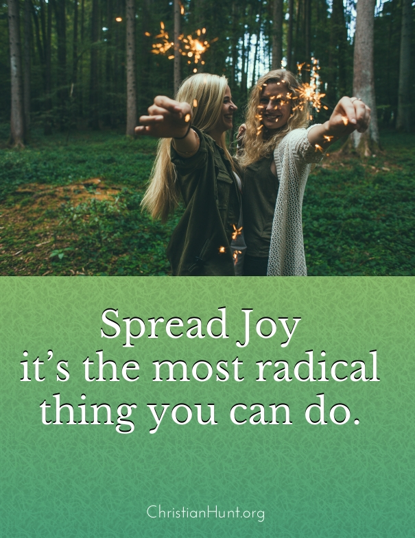 Spread Joy - Christian Hunt